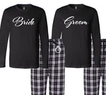 Bride and Groom Pajama Set, Gifts for the Couple, Bride and Groom Set
