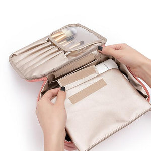 Load image into Gallery viewer, Personalized Shadow Stripe Cosmetic Bag