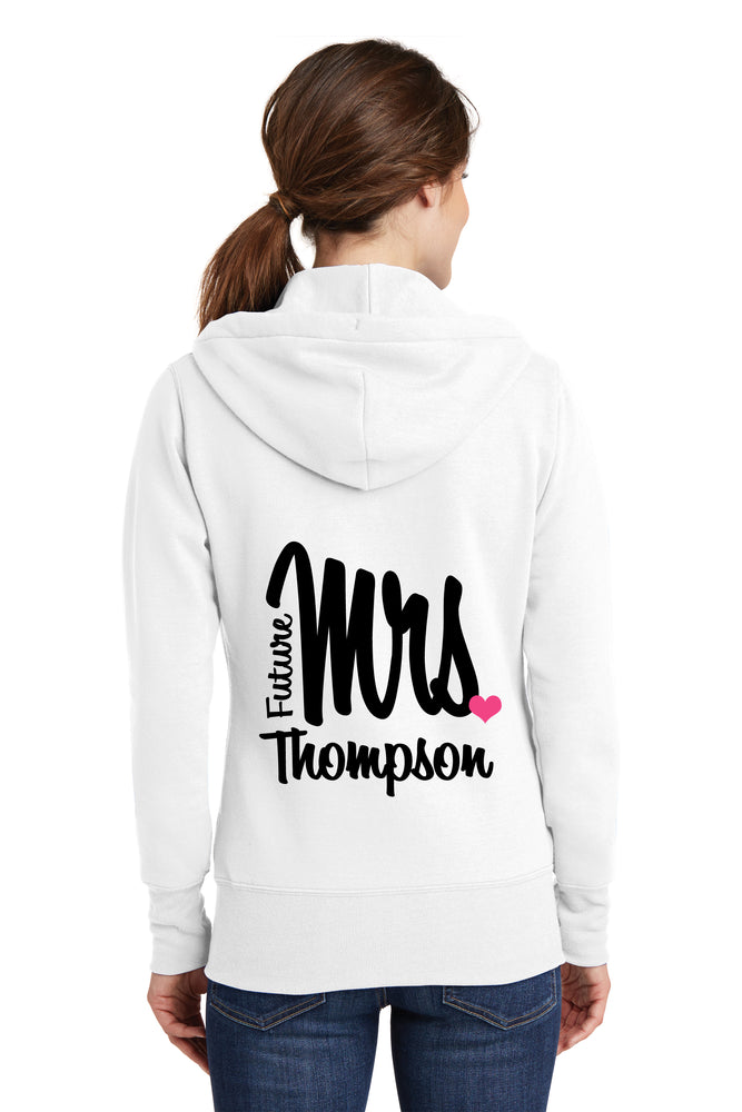 Personalized Future Mrs. Bride Hoodie