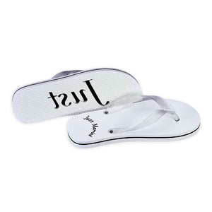 Load image into Gallery viewer, Just Married Flip Flops - For Her