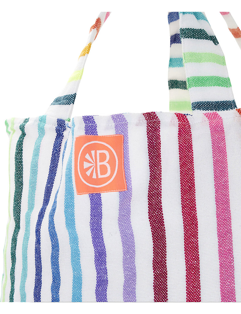 Monogrammed El Pablo Beach Bag
