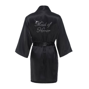 Rhinestone Bridal Party Robe