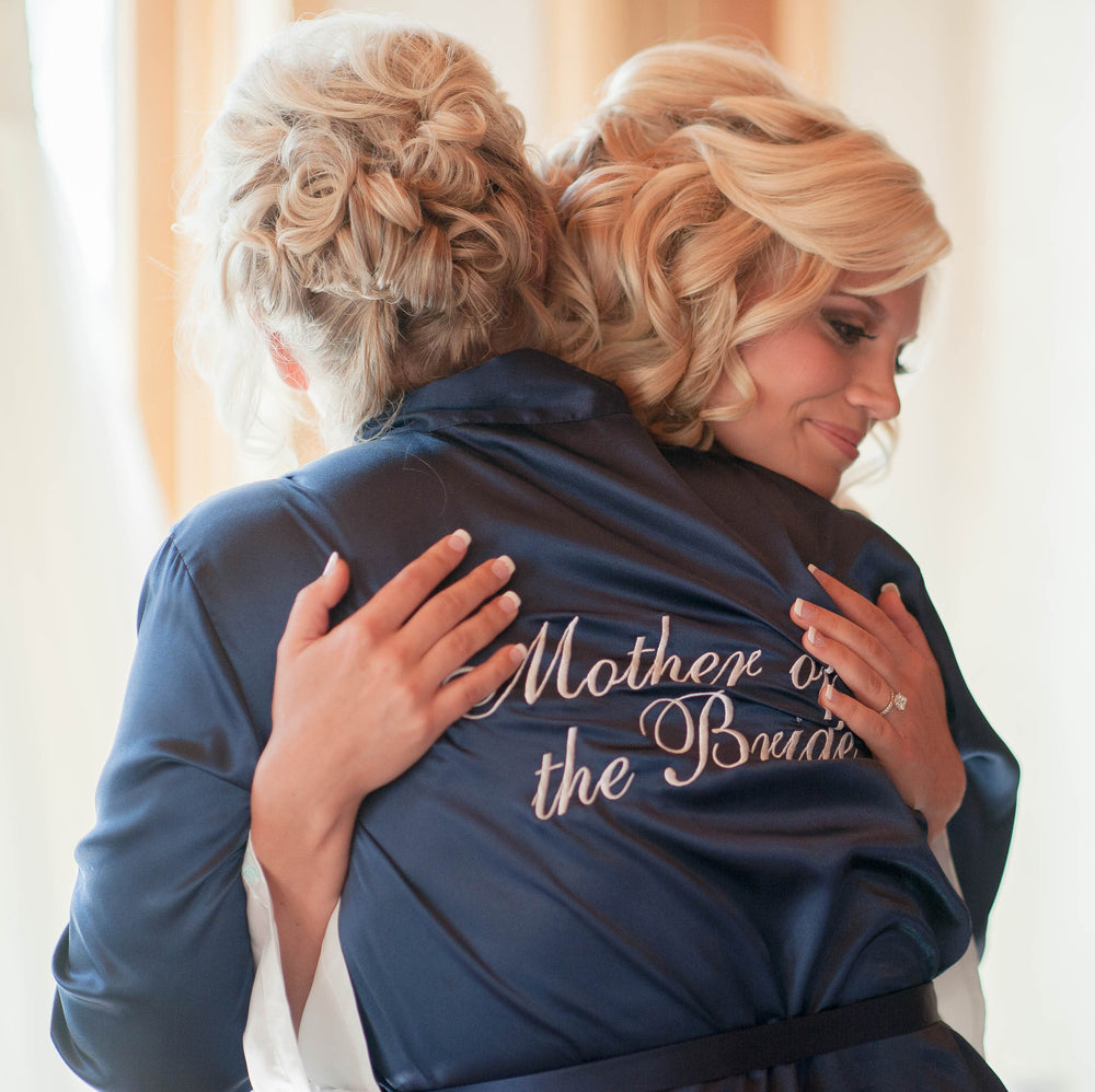 Mother of the Bride Satin Robe