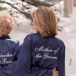 Mother of the Groom Robe, Gifts for the Mother of the Groom, Mom Robe, Satin Robes for Moms
