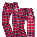 Personalized Flannels, Bride and Groom Pajamas, Mr. and Mrs. Flannels