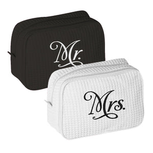 Mr. and Mrs. Toiletry Bag Set