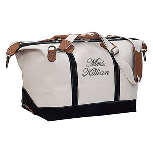 Personalized Mrs. Travel Weekender