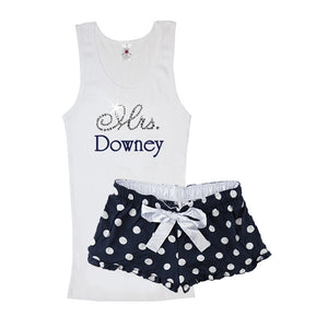 Load image into Gallery viewer, Personalized Polka Dot Boxer Set