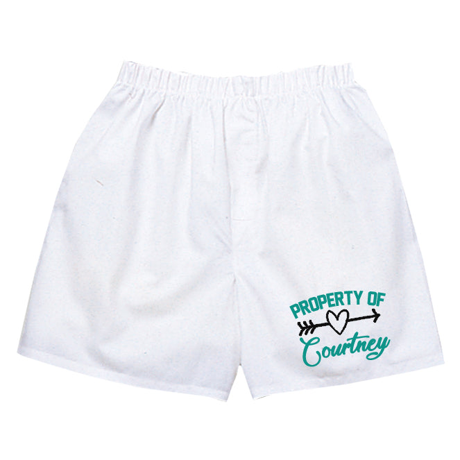 Personalized Property of Boxer Shorts