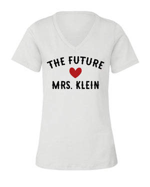 The Future Mrs. V-Neck T-Shirt