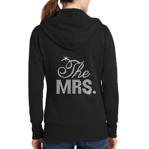 Load image into Gallery viewer, The Mrs. Rhinestone Hoodie
