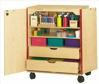 Art Supply Cabinet