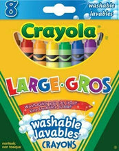 Charger l'image dans la galerie, Crayola Ultra-Clean Washable Large Crayons