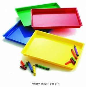 Messy Trays - Set Of 4