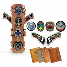 Load image into Gallery viewer, Peel & Stick Totem Poles