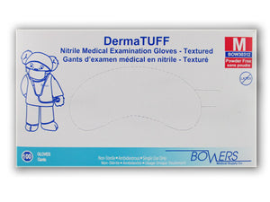 NITRILE GLOVES (Various options) DermaTuff* 100/ Box