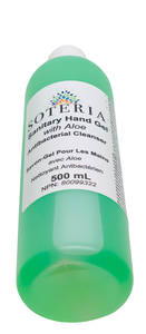 SOTERIA Sanitary Hand Gel 70% Alcohol (Various Sizes)