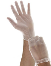 Load image into Gallery viewer, DermaTuff VINYL Gloves (Clear): 100/ BOX