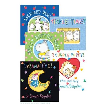 Board Book Series, Set of 5