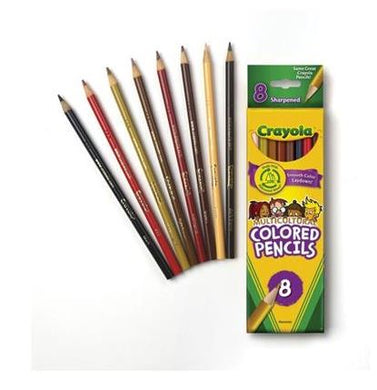 Crayola Pencils, Multicultural, Set of 8