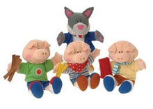 Load image into Gallery viewer, Three Little Pigs Puppets