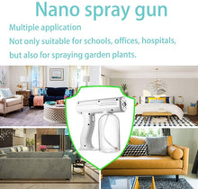 Load image into Gallery viewer, Wireless Disinfectant Fogger Machine, Superfine Atomized Particles, Handheld Rechargeable Nano Steam Atomizer 800ml