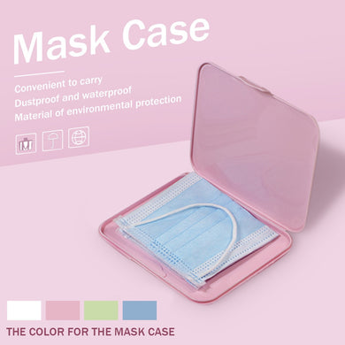 Portable Moisture-proof Storage Box for Face Mask