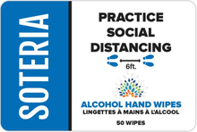 Load image into Gallery viewer, Alcohol Hand Wipes by Soteria 50/Pack