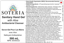 Load image into Gallery viewer, Soteria Hand Sanitizer 500mL Pump Bottle- Watermelon Scented
