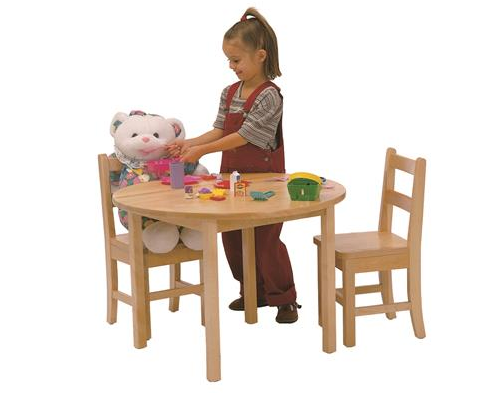 TABLE AND CHAIR SET, 28