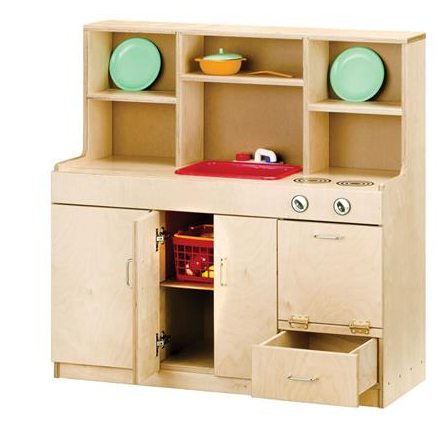 4-IN-1 MOBILE KITCHEN, BIRCH