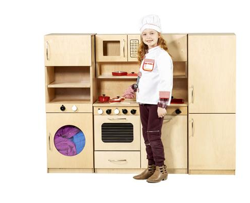 CLASSIC KITCHEN SET, COMPACT, BIRCH