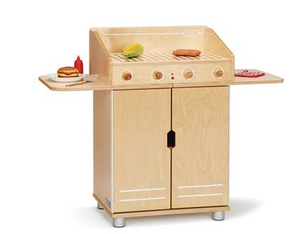TRUEMODERN PLAY BBQ GRILL, BIRCH