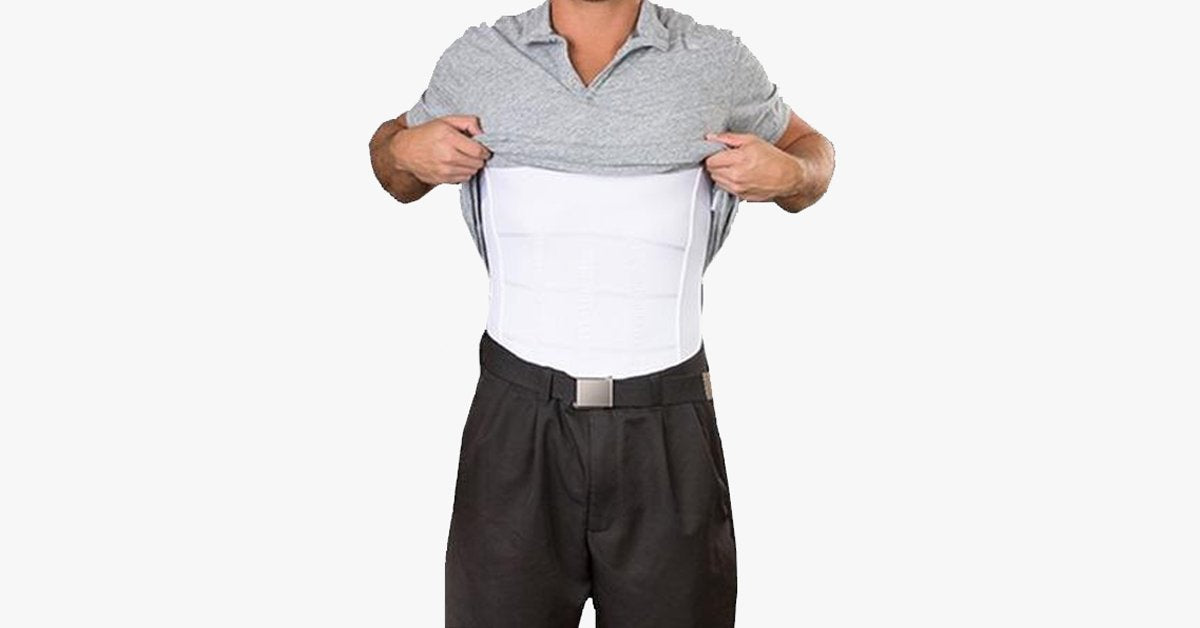 (50% Off Today Only) Men's Body Slimming Under-Shirt