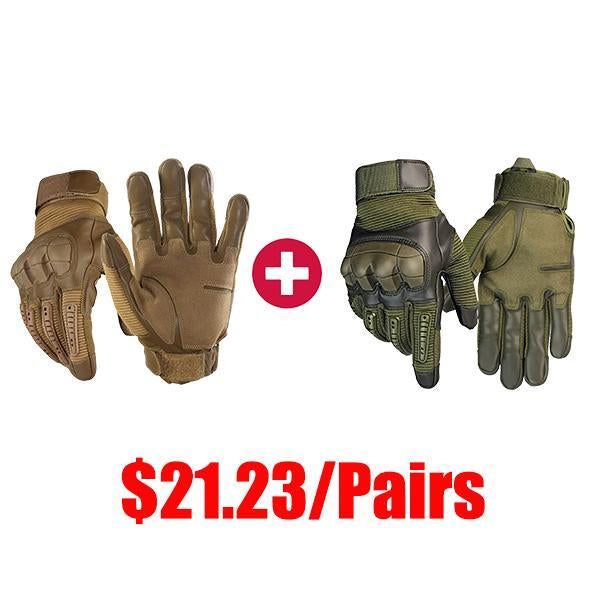 【BUY 3,ENJOY 20%OFF】Full Finger Touch Screen Tactical Military Gloves