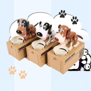 Dog Coin Bank >>Dog Piggy Bank Also Children's Accompany Toy(🚂Buy 2 Free Shipping✨)