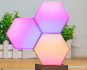 Geometry Assembly Smart Night Light
