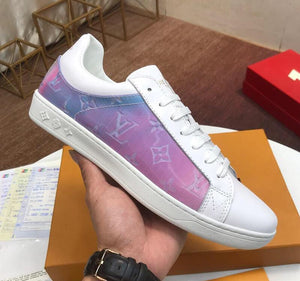 "Louis Vuitton Luxembourg Sneaker ""Rose"""