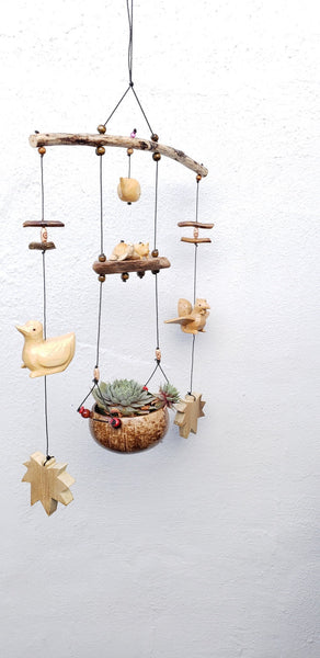 Duck,Hen,whale .pigs hanging planter indoor or outdoor,weather,patio decor.
