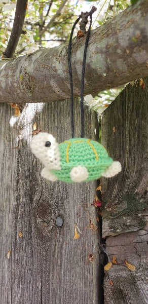 Turtle finished doll.hand crochet