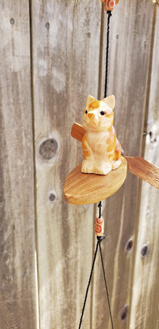 Cat surfboard hanging coconut plant pot,weatherproof indoor or outdoor