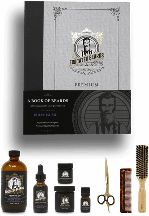 Book of Beards | Complete Balsam Eclipse Premium Grooming Kit | Educated Beards