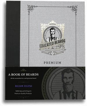 Book of Beards | Complete Premium Grooming Kit | Educated Beards