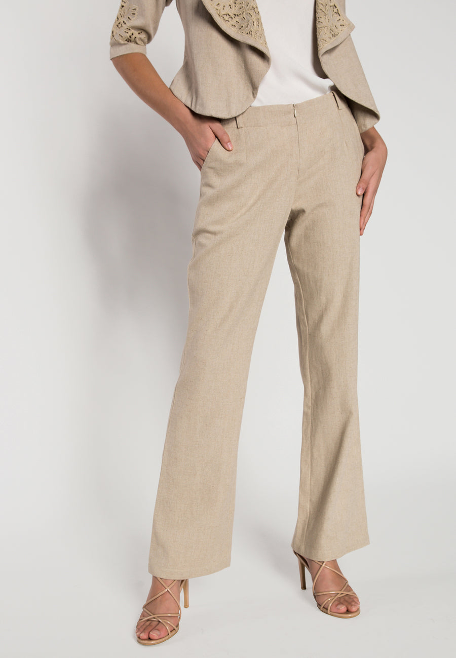 70s inspired flare pant