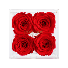 Load image into Gallery viewer, Red Flame Rose Jewelry Box (small, medium and large)
