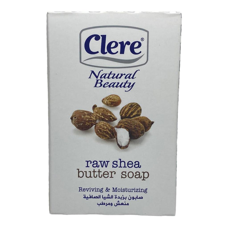 CLERE NATURAL BEAUTY raw shea butter SOAP  (150G)