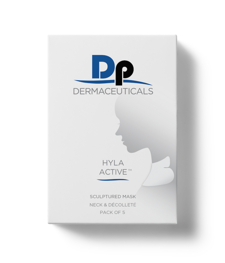 Hyla Active Neck & Decollete Mask (Box of 5) - WHSL