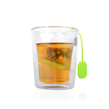 Food-grade Silicone Tea Bags Colorful Style Tea Strainers Herbal Loose Tea Infusers Filters Scented Tea Tools Random color F