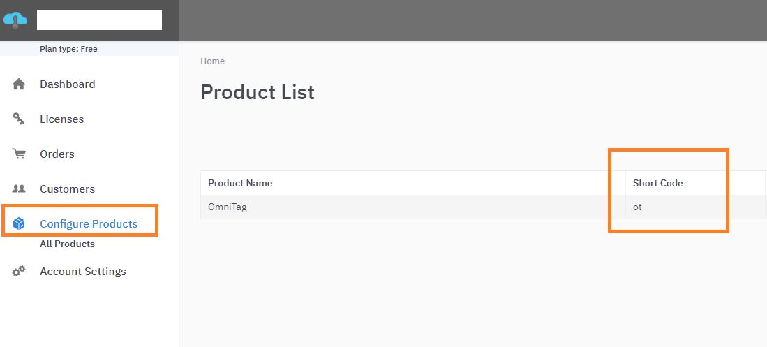 LicenseSpring Configure Products