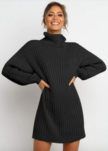 Load image into Gallery viewer, Oversized Sweater Dress